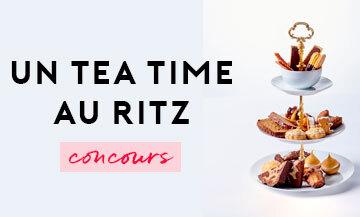 Jeu Concours pour gagner un tea time au Ritz