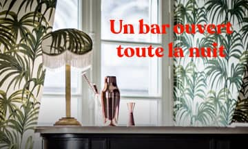 18 underground minibars to be tested at Hôtel Providence in Paris