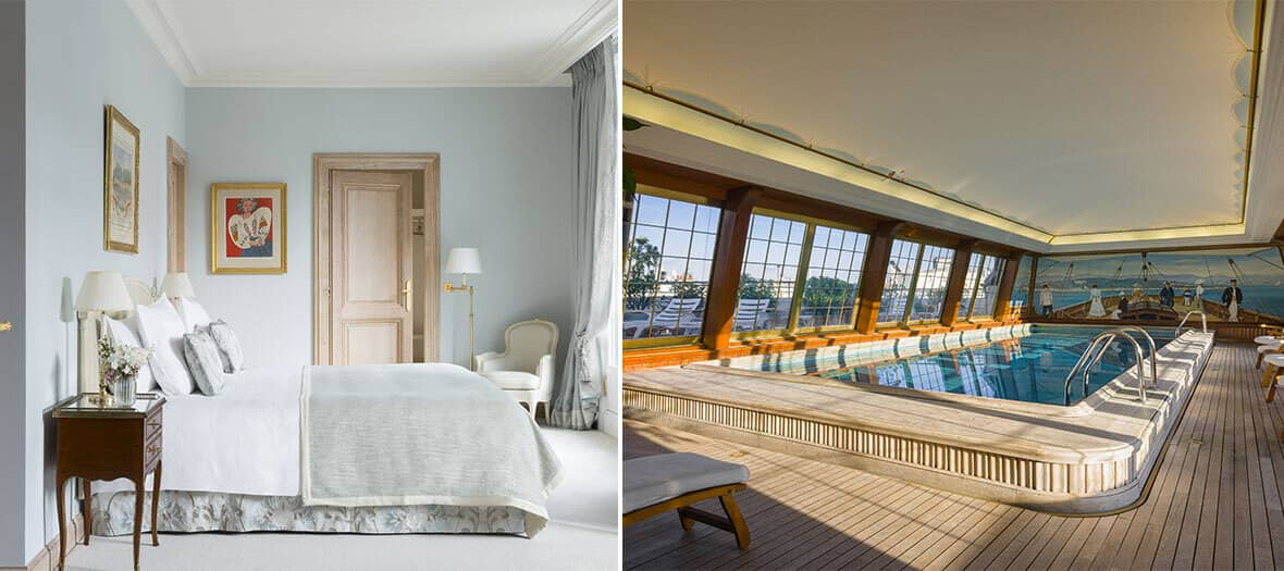 Chambre standard à l'hôtel Bristol à Paris