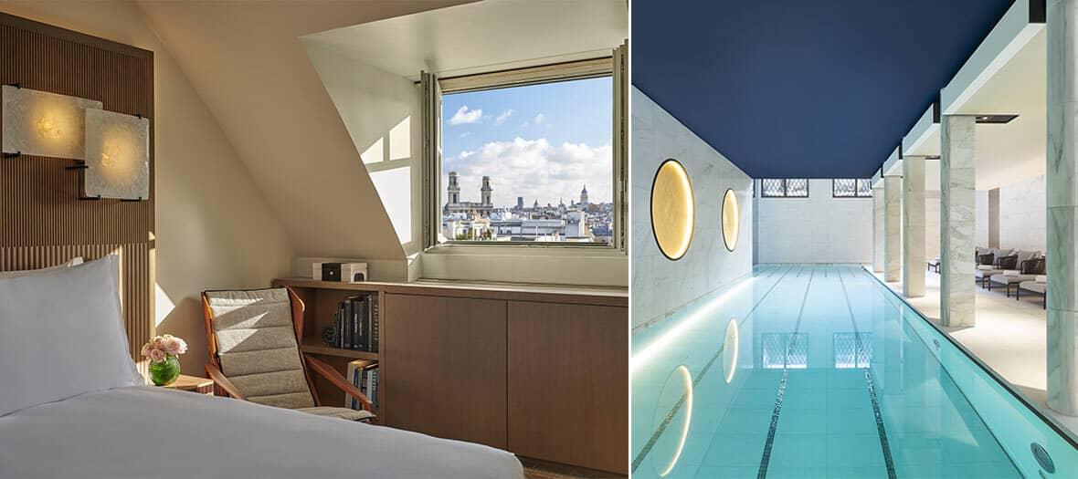 Chambre et Spa au Lutétia à Paris