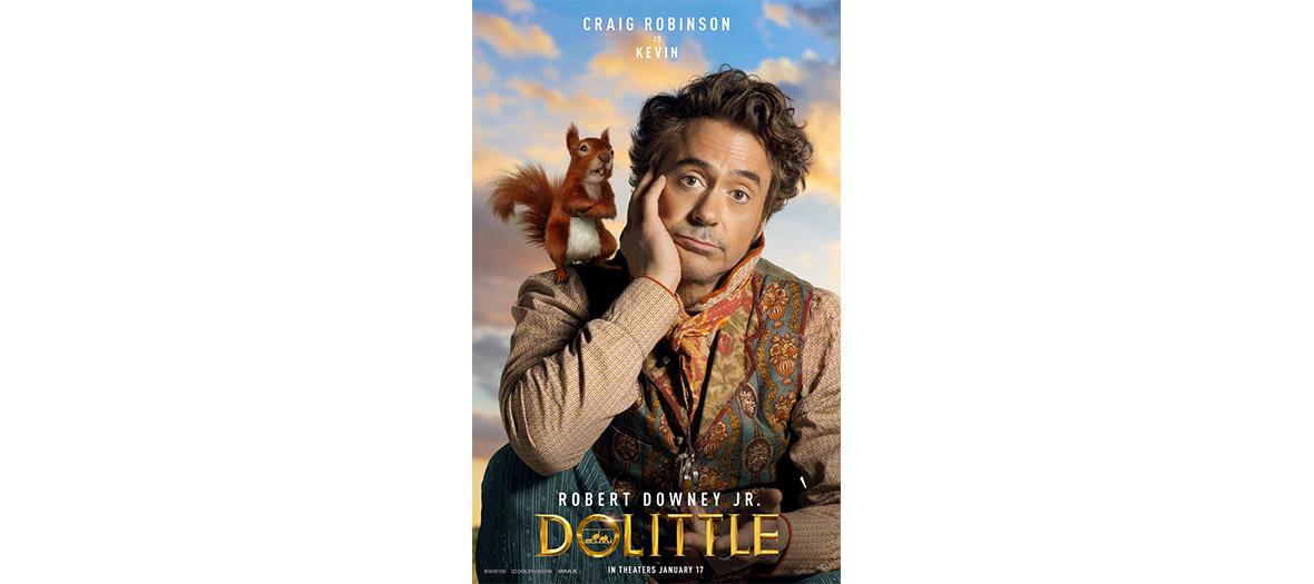 Film Le voyage du Docteur Dolittle avec Robert Downey Jr