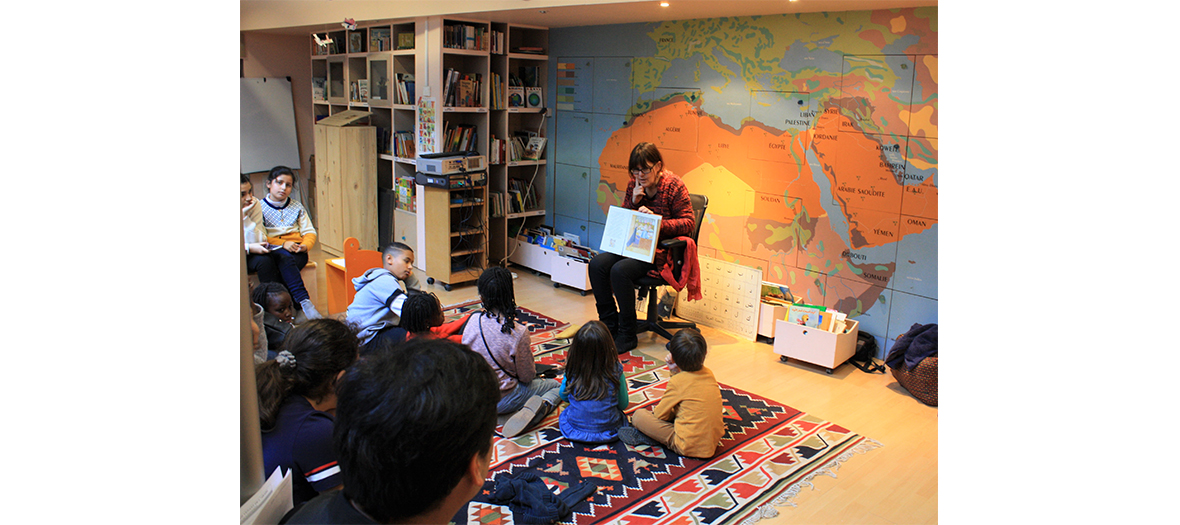 L'Heure du Conte et l'exposition ALULA merveille d'Arabie à l'Institut du monde arabe