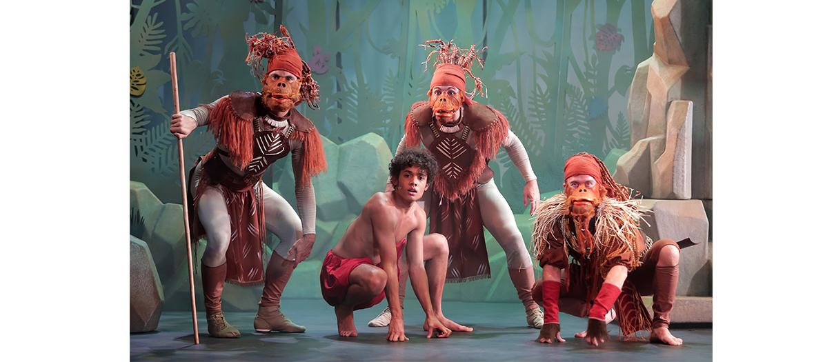 Comédie musicale de Rudyard Kipling, Le livre de la jungle au Théâtre des variétés
