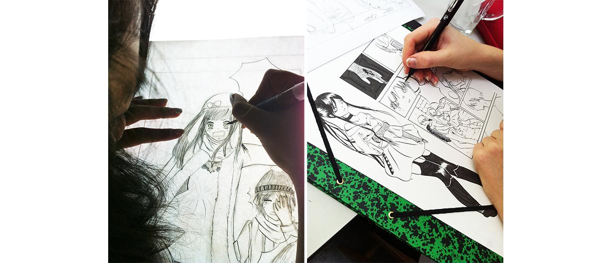 Cours de dessins de Naruto et technique de manga