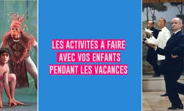All the kids activities during Toussaints Holidays 2020 that include My Urban Experience, the Palais Galiera museum, The Jungle Book in theatre, lesdecliques kids camp, the Escoffier cooking school, The Dark Dreams and the cinematheque in Paris.