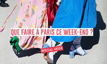 Buy designer items, fista with The Louis Vuitton Foundation, Joones label embroidery this Week End
