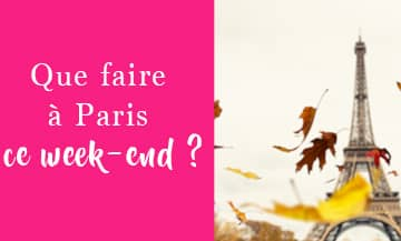Week End 23 Octobre