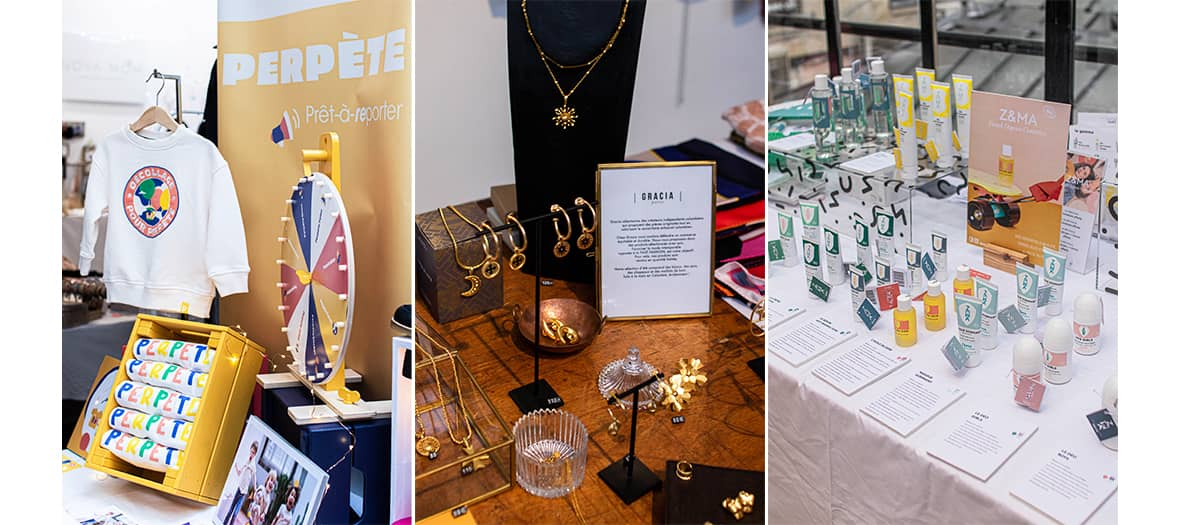 The reunion, un concept store pour découvrir des jeune marques en mode, en décoration et en cosmétique.