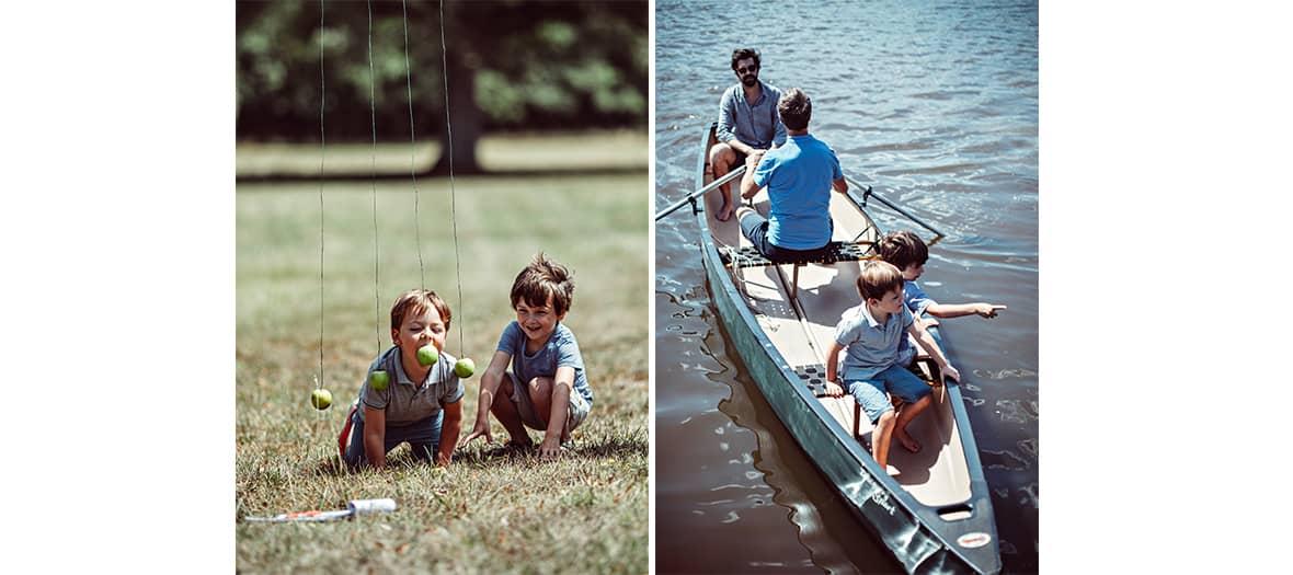 Les activités pour les enfants  au domaine de Trigalière