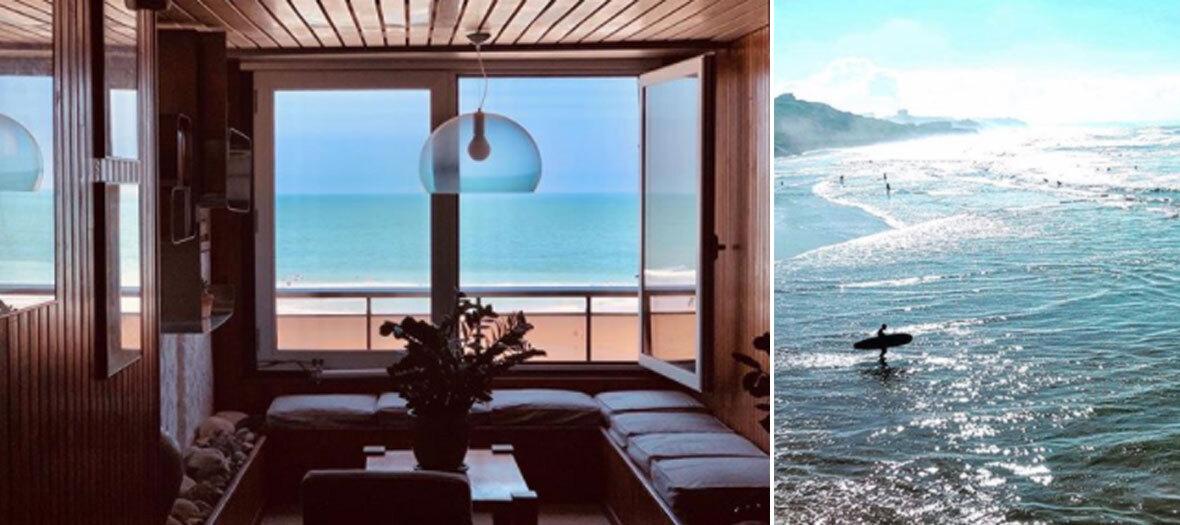 Bed and surf avec 2 cours à la Carlina Lodge à Biarritz
