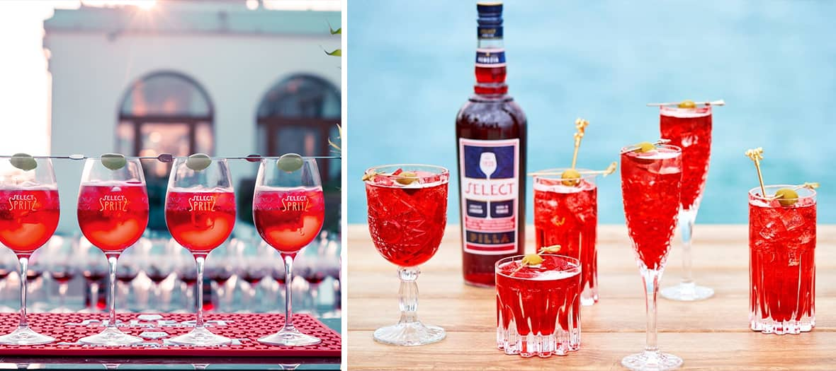 The recipe for a real Spritz with Select Aperitivo