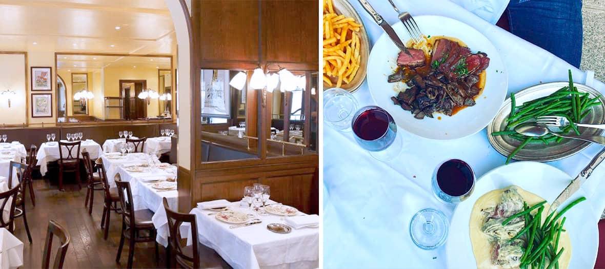 Le bistrot Chez George à Paris