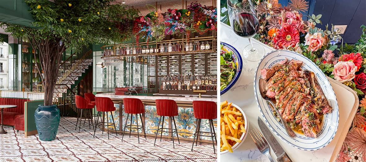 The Brasserie Bellanger Bistrot in Paris