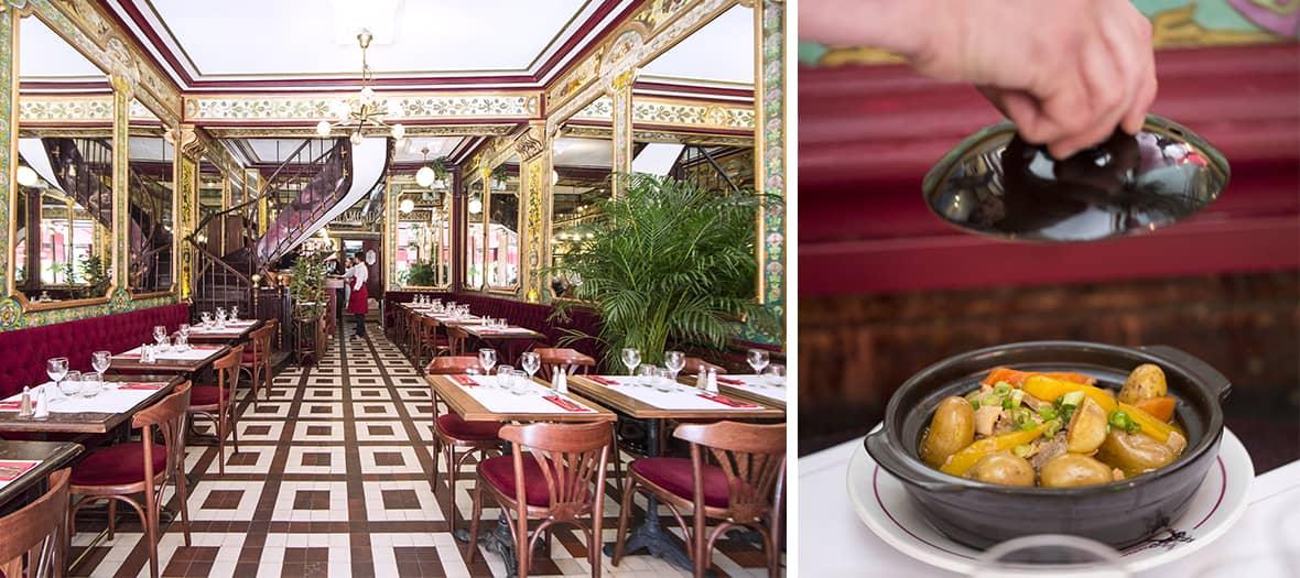 The petit bouillon pharamond in Paris