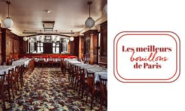 Les restaurants Bouillons à Paris