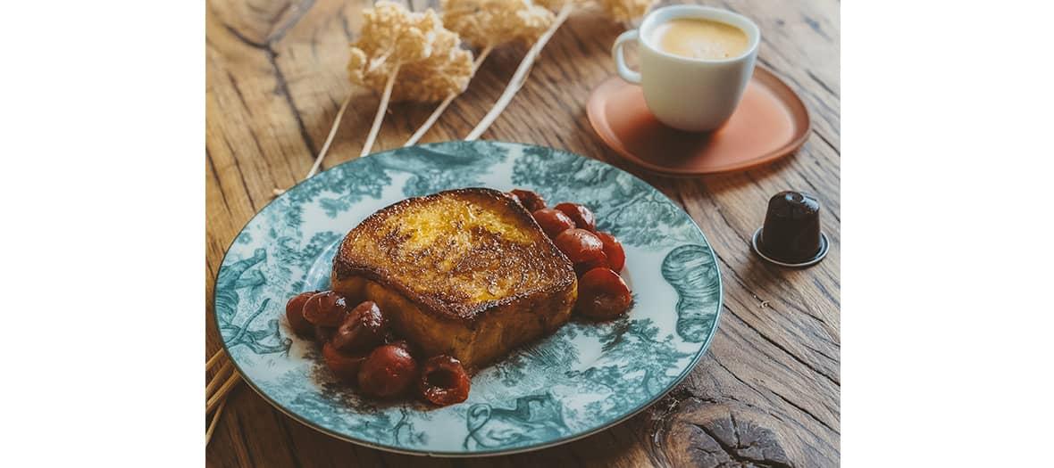 La recette de pain perdu de Jean Imbert