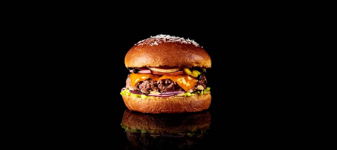 Le burger en take away de Vivanda