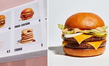 The Baby Love Burger restaurant in Paris