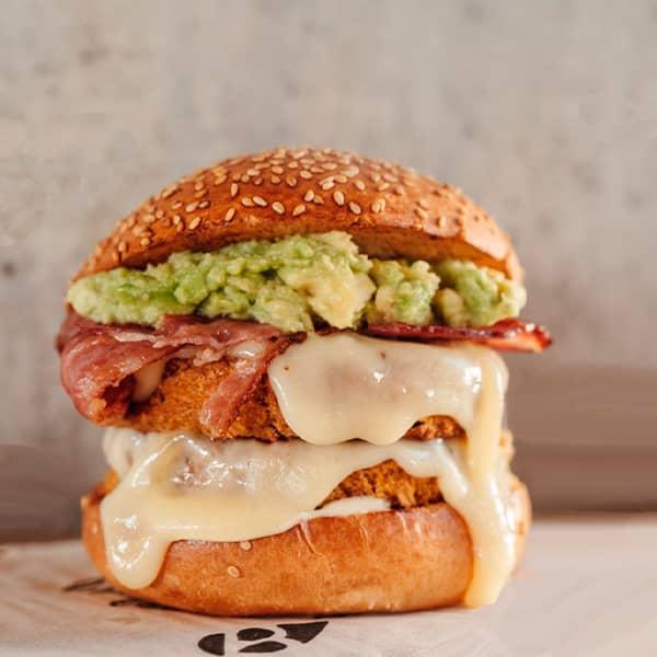 The burger, fries or coleslaw menu at Bioburger