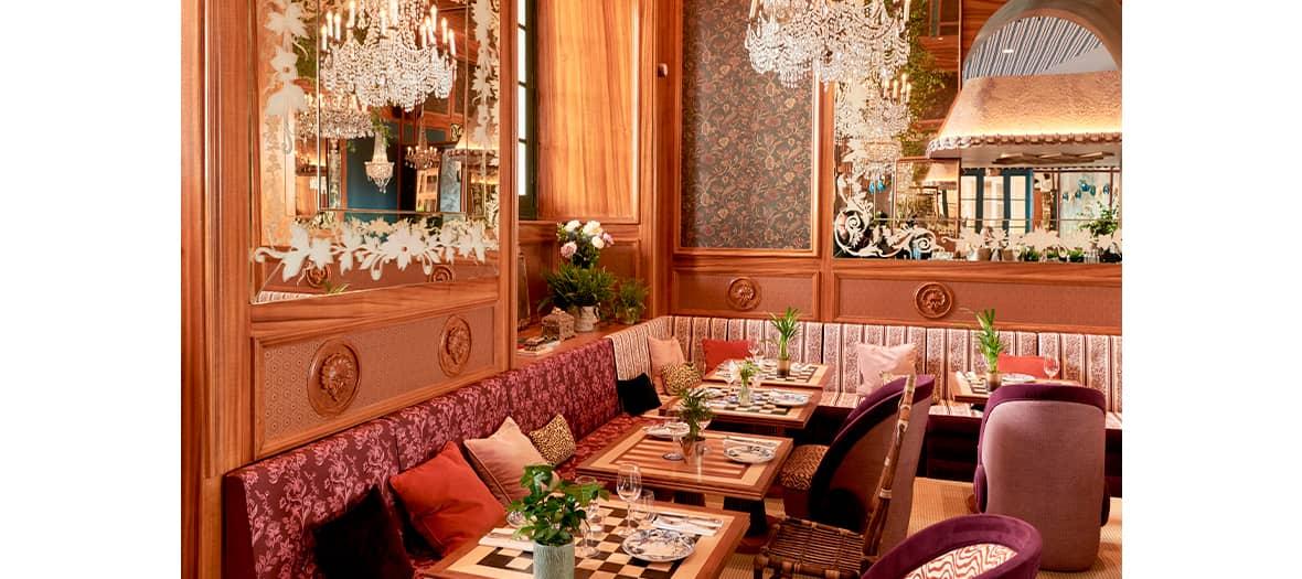 La brasserie Lapérouse place de la Concorde à Paris