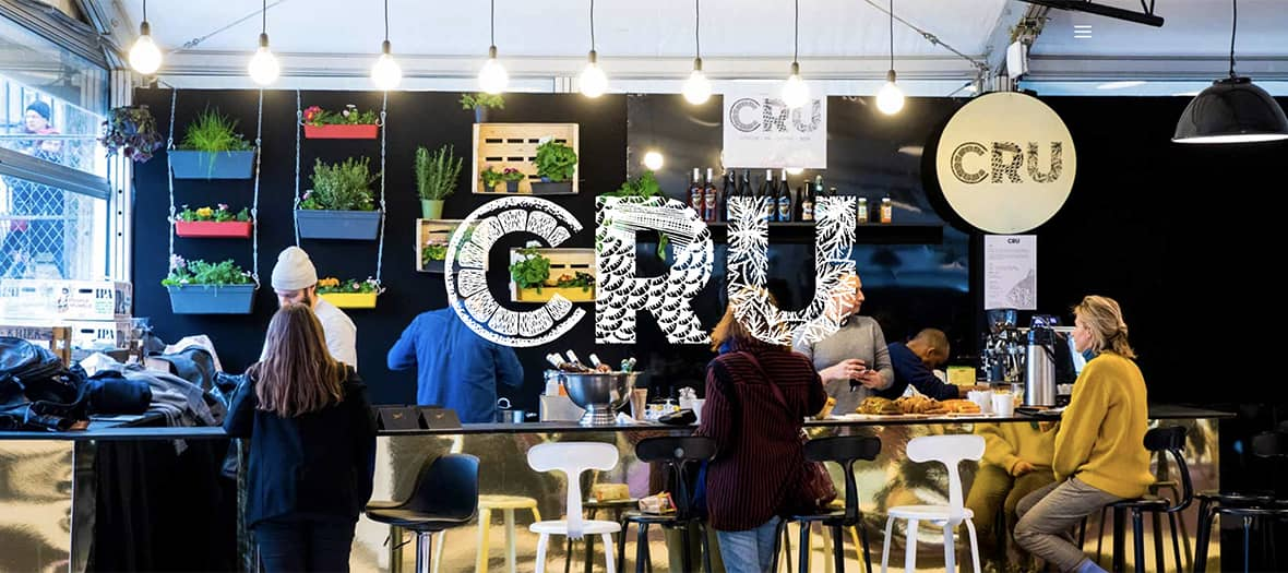 Cru, la cantine healthy et light