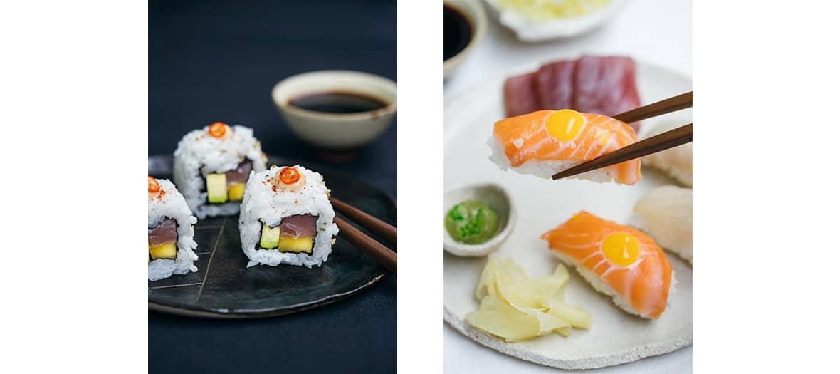 Les sushis bio de chez Hikyo