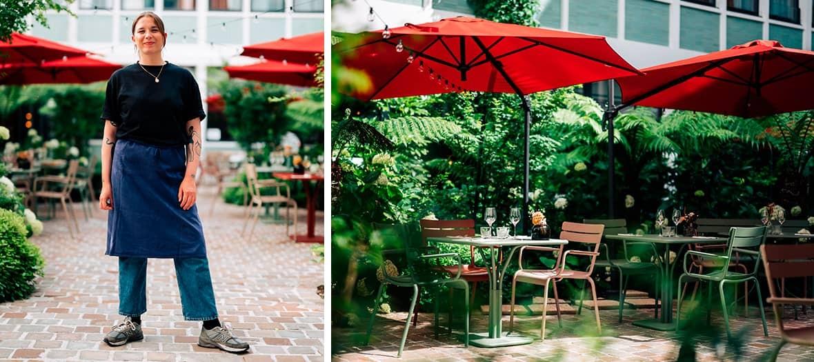 The Grand Vacarme restaurant in paris