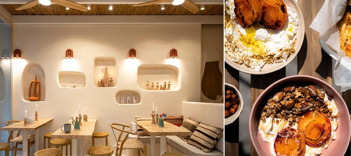 Les plats veggie du restaurant Gomi à Paris