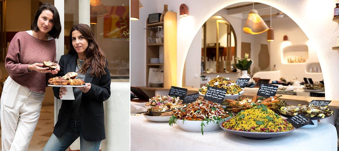Clémence Gommy au restaurant Gommy à Paris