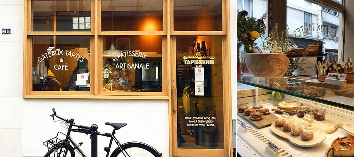 Les meilleurs patisseries artisanales chez Tapisserie Paris