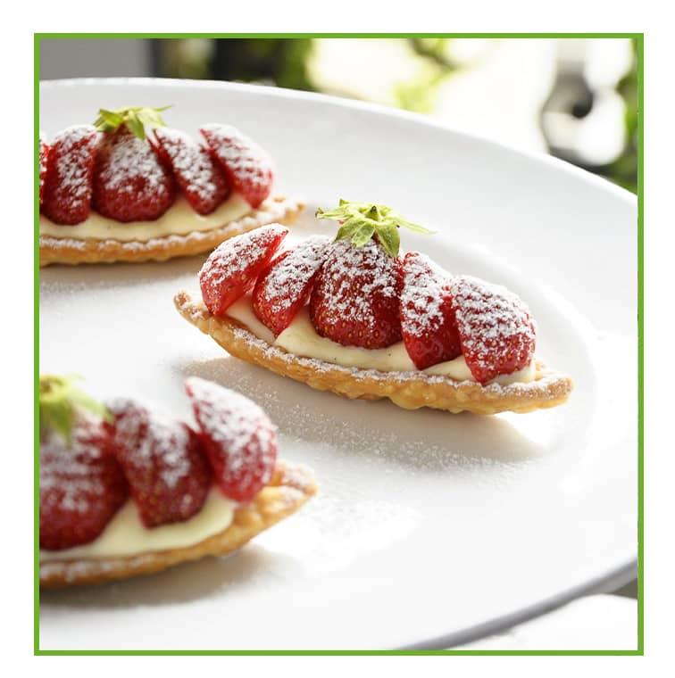 La tarte aux fraises de Sébastien Gaudard avec