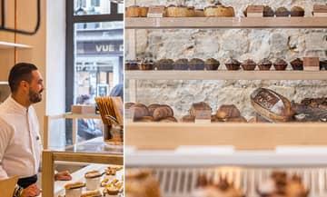 The Jeffrey Cagnes pastries in Paris