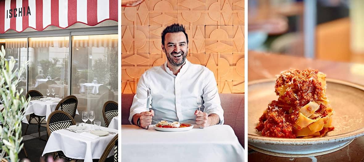 Ischia, Le premier restaurant italien de Cyril Lignac