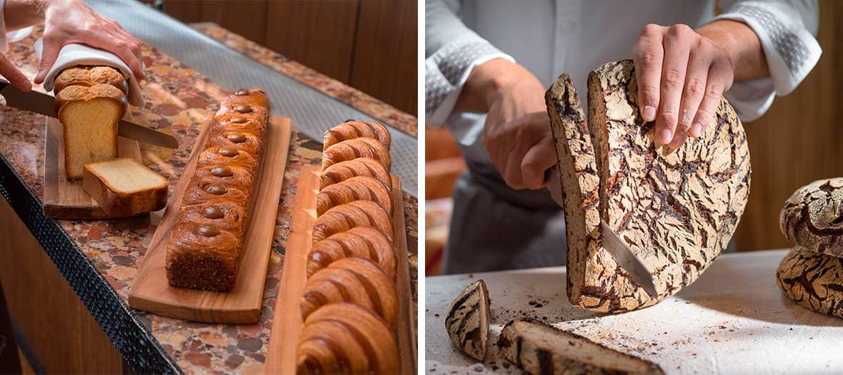 Le pain du Moulin Taron à la Minoterie Suire au Limbar