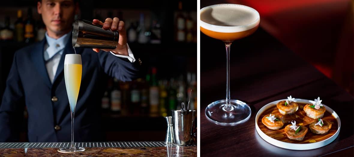 Le chef barman Florian Thireau au Limbar