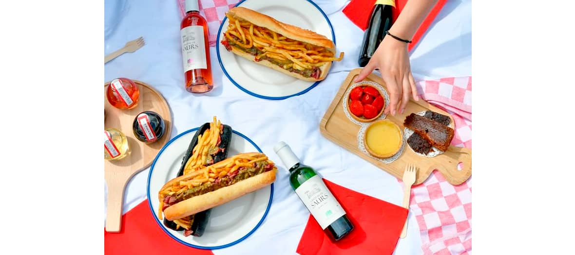 Le sandwich américain du Relais de l'entrecôte à Paris