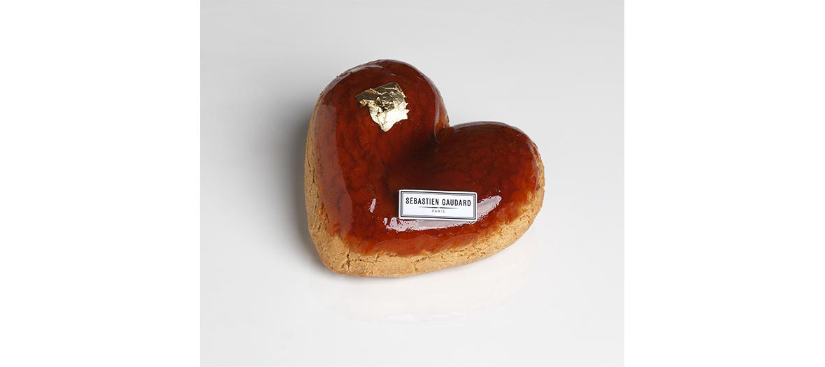 "Valentine's Day dessert from Sébastien Godard ""Mon chou à la crème"""