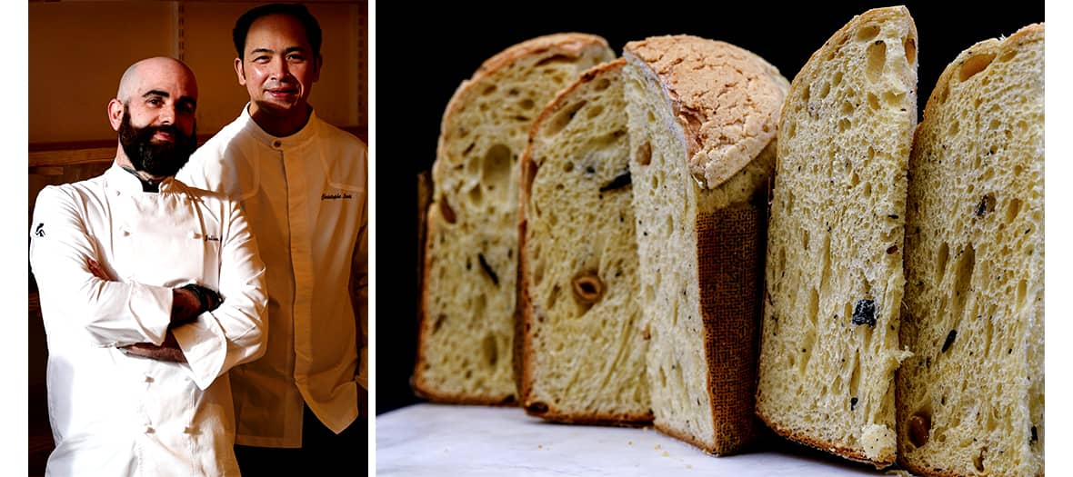 Christophe Louie and Julien Serri's truffle panettone