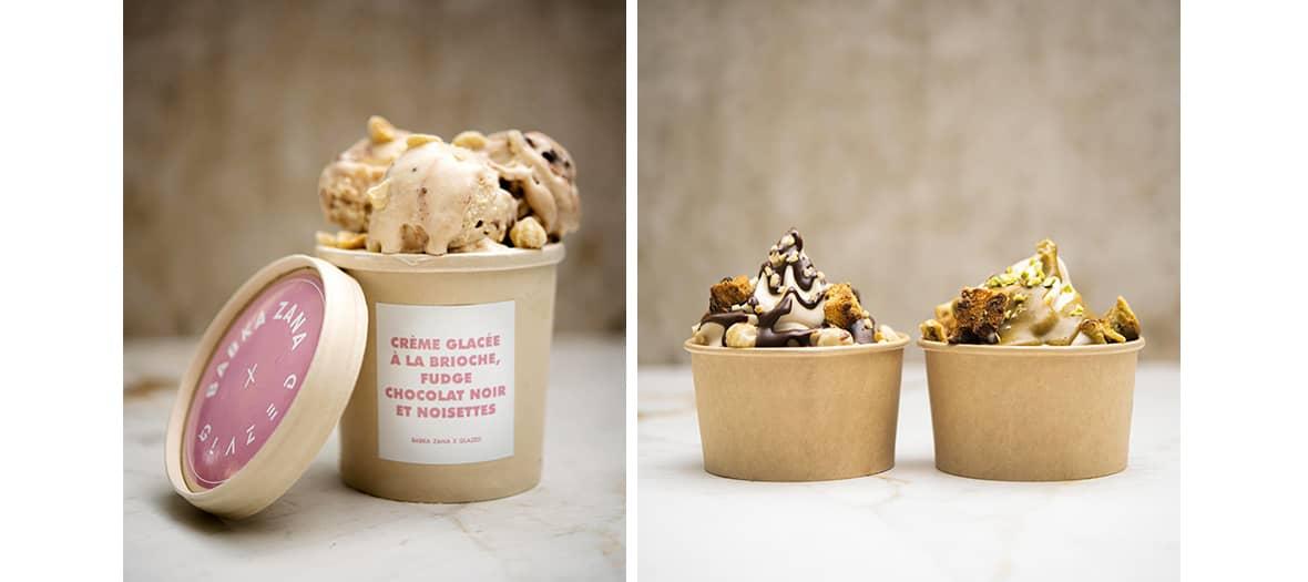 The Babka Zana and Glazed ice creams in Paris