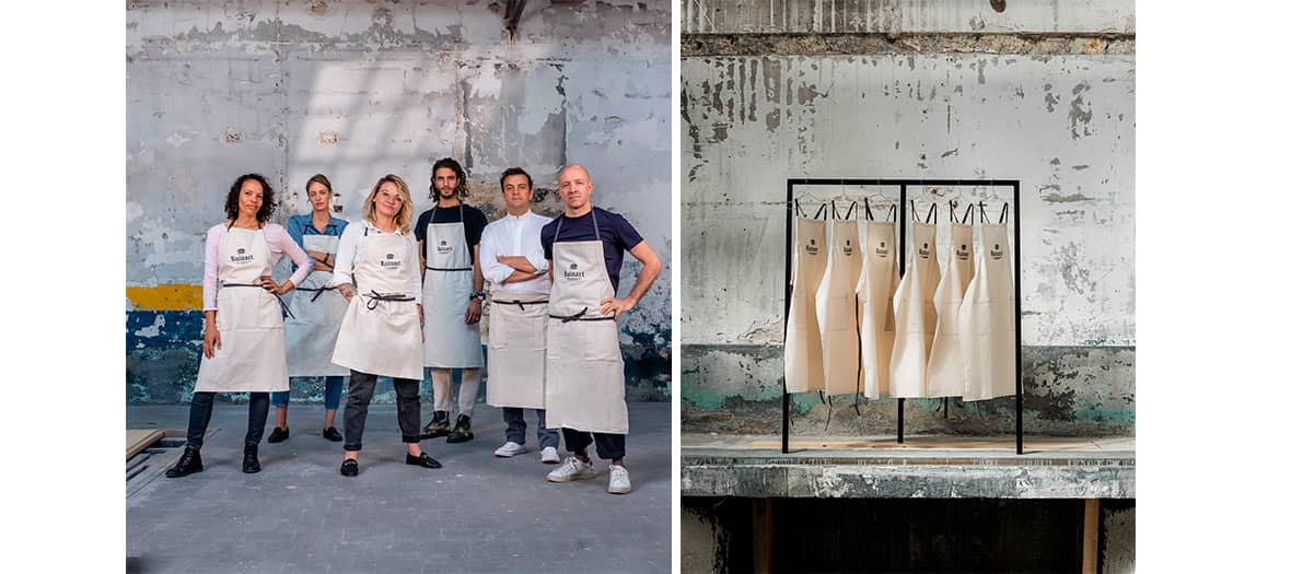 L'unconventional restaurant at Ruinart with Julien Sebbag and Céline Pham