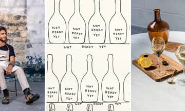 L'evenement Ruinart Unconventional restaurant avec Julien Sebbag et Céline Pham