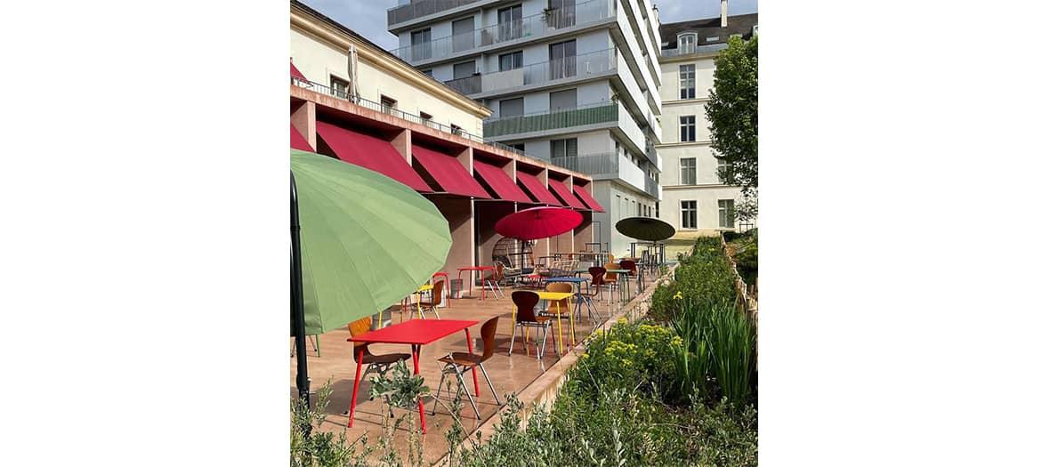 La terrasse du Douze à Paris