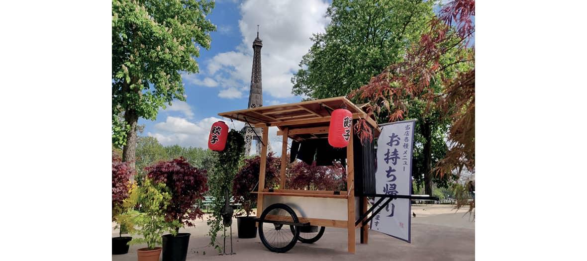 La terrasse de Hanami au Trocadéro à Paris