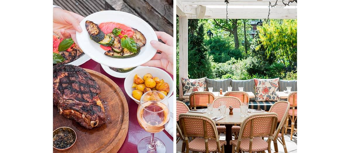 le barbecue de l'été par Brasero & Rosé à L'île