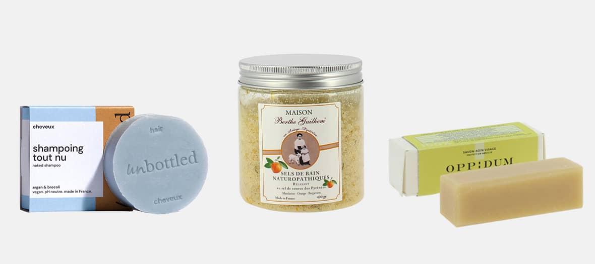 Une sélection pointue de la trésorerie avec le savon masque d'Oppidum et les soins au lait de chèvre