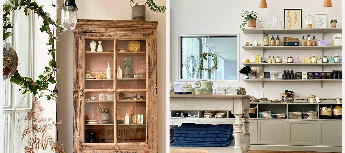 Au Bain, la boutique avec des produits de beauté introuvable par la Trésorerie