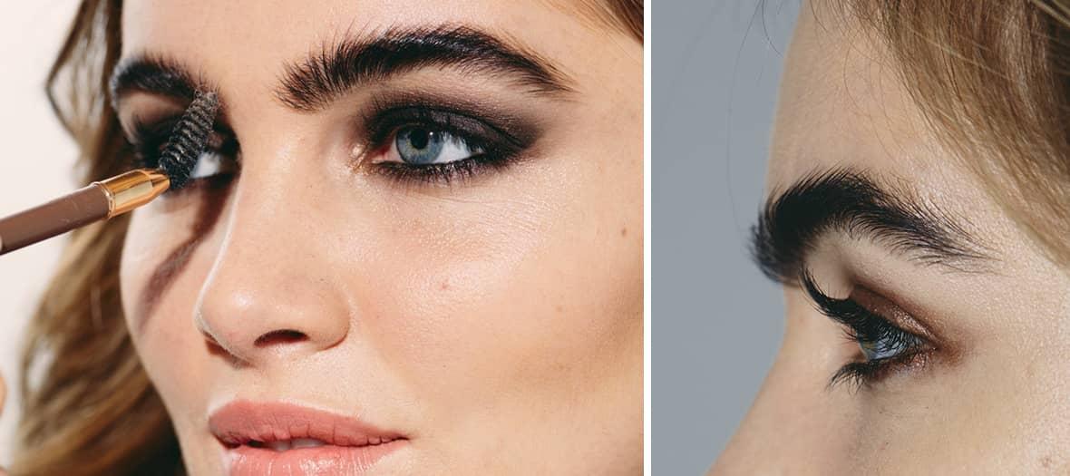 Maquillage cils et sourcils chez Un jour Un regard avec Remodelage des sourcils, extension et rehaussement des cils, teinture des cils et maquillage semi-permanent des sourcils chez Un jour un regard