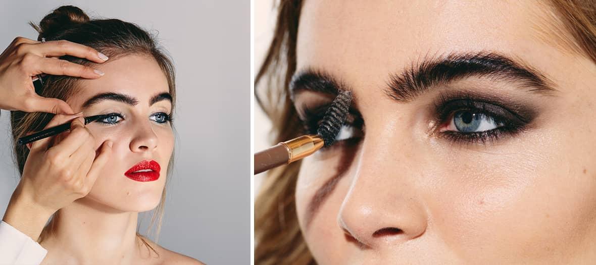 L'institut de beauté Un jour un regard specialisé dans le maquillage des cils et des sourcils