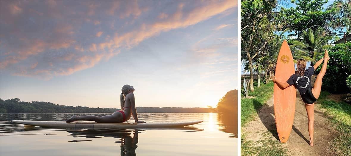 La Retraite de surf & yoga de 3 jours dans le pays basque par Namastrip.