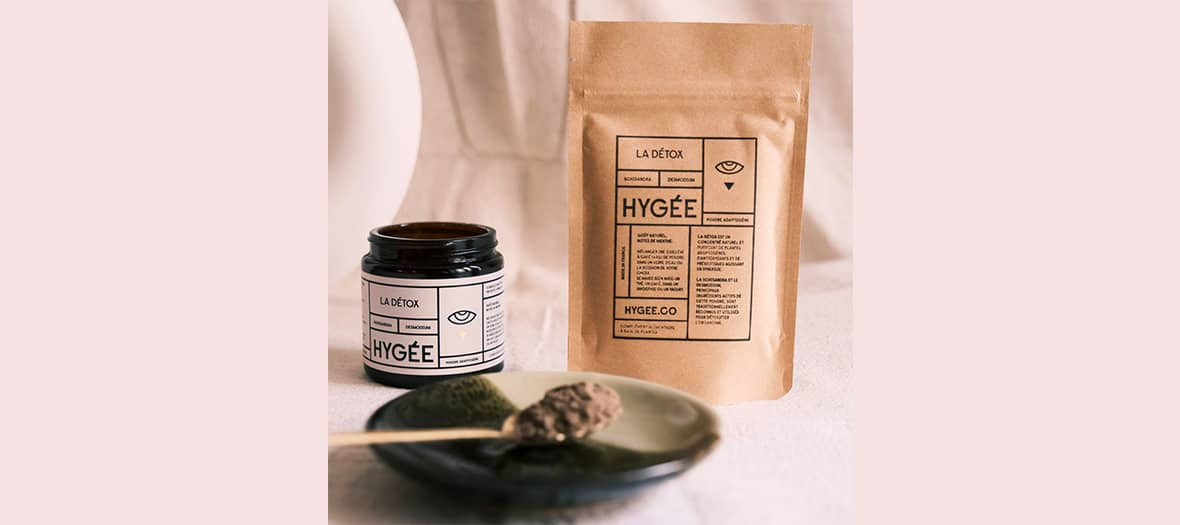 Hygée natural powders with a mixture of schisandra and desmodium traditionally recognized and used to detoxify the body.